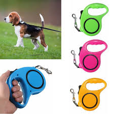 3M Automatic Dog Collar Belt Pet Traction Rope Pet Extensible