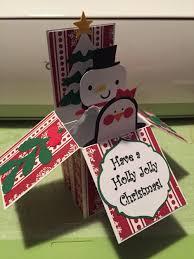 cricut christmas card create a critter 2 box card the cricut