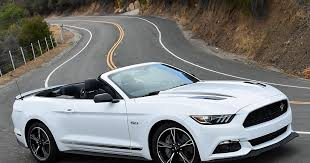 white ford mustang convertible 2017 ford mustang gt convertible california special edition white