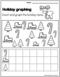 printable christmas graphs free christmas graph worksheet fun december preschool kindergarten