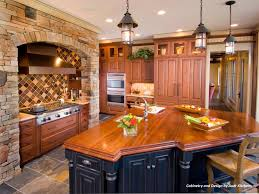 oak kitchen cabinet finishes mixing kitchen cabinet styles and finishes hgtv
