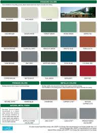metal roof galvalume roof color zinc grey or charcoal grey