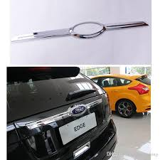 ford edge accessories 2017 car chrome plating trim trunk accessories for ford edge