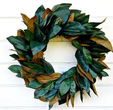 decor fuchsia magnolia wreath silk with wreaths delivered and