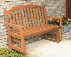 wooden outdoor glider bench outdoor glider bench furniture