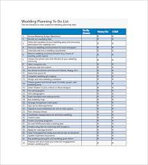 wedding to do list wedding to do list 8 free sample example format
