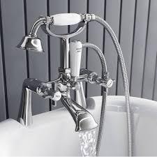Bathroom Taps With Shower Attachment Bath Mixer Taps With Shower Attachment Downstairs Toilet Designs