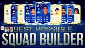 best possible team on fifa w legends and toty cards fifa