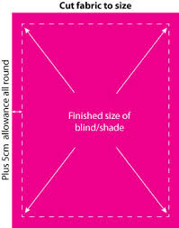 How To Measure Fabric For Roman Blinds How To Make A Roman Blind Shade U2013 Ooobop