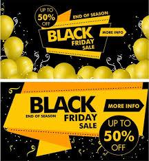 adobe black friday sale black friday banner yellow black design origami decor free vector