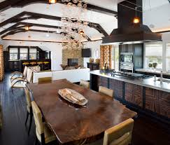 extraordinary rustic wood chandelier and with rustic dining room