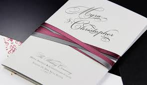 Wedding Program Paper Stock Trending Now New Grey As A New Neutral In Wedding Stationery