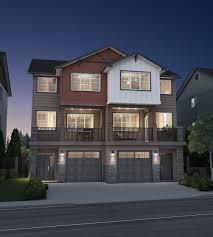 contemporary narrow duplex blog house plan hunters