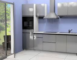 electromenager pour cuisine cuisine complete avec electromenager mana gris brillant pour cuisine