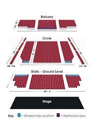 Floor Plan Of Auditorium Seating Plan Grimsby Auditorium
