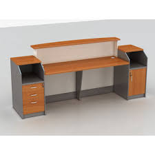 Standing Reception Desk China Hotel Standing Wooden Reception Desks With File Cabinets On