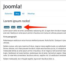 how to create layout overrides for joomla tags joomlashack