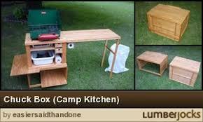 Camp Kitchen Box Plans by Chuck Box Camp Kitchen By Easiersaidthandone Lumberjocks Com