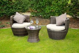 Egg Bistro Chairs Modena Rattan Lounge Set Outdoor Living Direct Outdoor Living