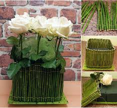 Diy Flower Arrangements Diy Flower Arrangement Ideas 4 Easy Rose Centerpieces For Your Table