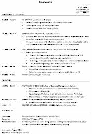 Cv Vorlage Englisch Usa Lebenslauf Englisch Studium Anschreiben 2018