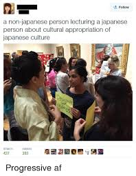 Cultural Memes - follow a non japanese person lecturing a japanese person about