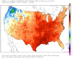 Oregon Temperature Map by The Nation Is Immersed In Its Warmest Period In Recorded History