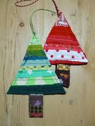 handmade tree decorations by stitch galore decorated