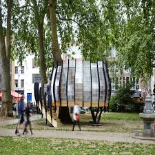 prototype pop up tree office opens in the of hackney