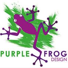 purple frog design purpfrogdesign