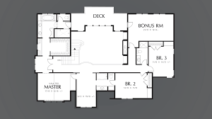 Symmetrical Floor Plans by Mascord House Plan 2392 The Kent