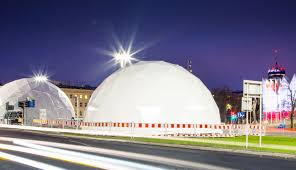 what are geodesic domes super structures really