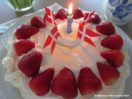 make birthday cake scandinavian today cooking show how to make a birthday