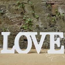 free shipping love sign diy wedding decoration wall hanging