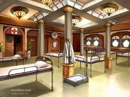hospital on titanic by novtilus deviantart com on deviantart my