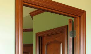 wood design using wood door frames for openings wood design