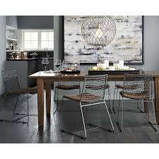 Crate And Barrel Dining Room Contemporary Kitchen Tables And Chairs Contemporary Kitchen