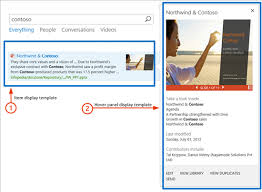 understanding how search results are displayed in sharepoint