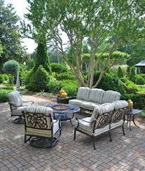 oval aluminum patio table chateau by hanamint luxury cast aluminum patio furniture 28 x 60