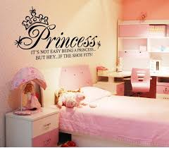 Quote Decals For Bedroom Walls Simple Decoration Princess Wall Art Smartness Design Princess Wall
