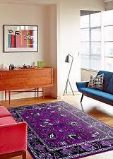 Large Purple Rugs Purple Persian Rug Ebay