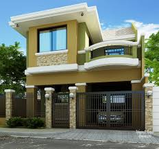 green classy residential house home design