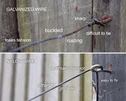 how to create quality wire supports for walls and fences an