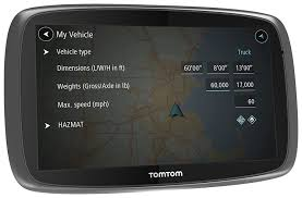 Google Maps Truck Routes by Amazon Com Tomtom Trucker 600 Gps Device Gps Navigation For