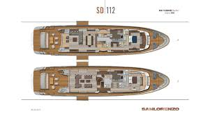 Luxury Yacht Floor Plans by Sd112 Sanlorenzo Americas