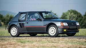 peugeot classic cars classic peugeot 205 set to sell for whopping 210 000 servicing