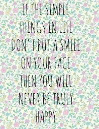 simple things quotes and sayings