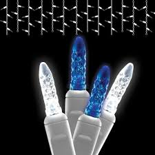lights led lights led icicle lights blue and