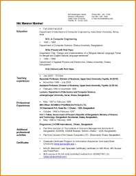 Fresher Resume Format Resume Format For Teachers Free Resume Example And Writing Download