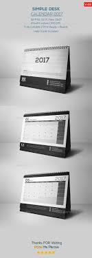 Calendar 2018 Ai Template Simple Desk Calendar 2017 Template Psd Ai Illustrator Calendar